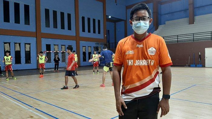 Budi Sumartono Pelatih Tim Putra Bola Tangan DKI Jakarta Optimis Raih Medali Emas