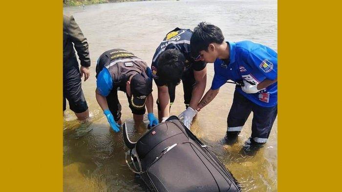 Turis China Dimasukan ke Koper dan Dibuang ke Sungai, Koper Ditemukan Warga, Terkejut Lihat Isinya