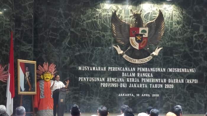 Buka Musrenbang, Anies Gandeng Mahasiswa dan RW