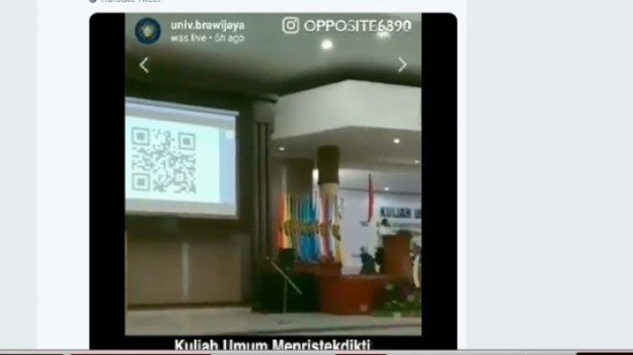 Aliansi BEM SI Laporkan Menristekdikti ke Bawaslu karena Viralnya Video Kampanye Jokowi