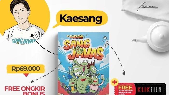 Buku berjudul Kecebong Kaesayangan digarap Sang Javas dan Kaesang Pangarep. Buku yang diterbitkan Falcon Publishing itu mulai dirilis menjelang Hari Raya Idul Fitri 2021, Jumat (7/5/2021).