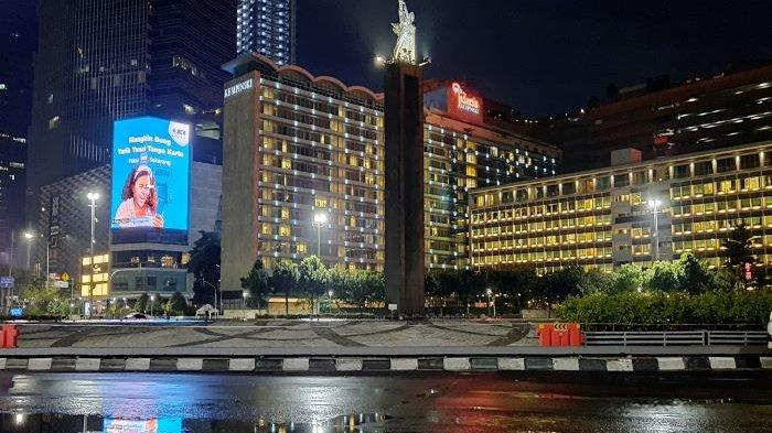 Pertama Kali dalam Sejarah, Bundaran HI Jakarta Sunyi Saat Malam Tahun Baru