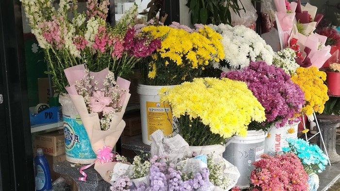 Jelang Momen Hari Valentine, Omzet Penjualan Bunga di Kota Tangerang Selatan Meningkat