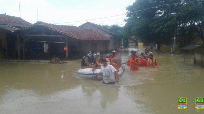 Kabar Baik, Banjir Kabupaten Bekasi Mulai Surut, Tersisa 45 dari 134 Titik Banjir pada Hari Ini