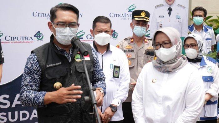 Capai 40%, Ade Yasin Klaim Vaksinasi Covid19 Kecamatan Jonggol Tertinggi di Wilayah Kabupaten Bogor