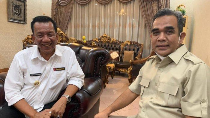 Kunjungi Pesisir Selatan, Ini yang Diperbincangkan antara Ahmad Muzani dengan Bupati Rusma Yul Anwar