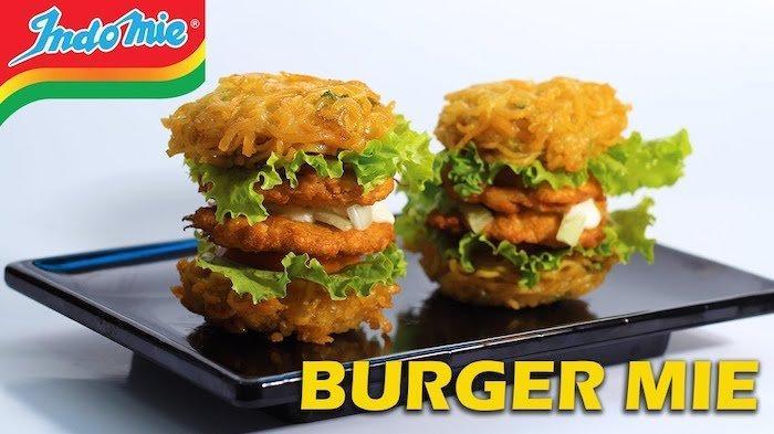Burger Indomie Goreng