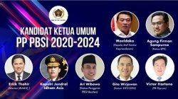 Para calon Ketum PP PBSI periode 2020-2024