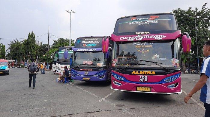 Jelang Larangan Mudik, Sejumlah PO Bus di Ciputat Kompak Naikkan Tarif