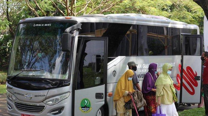 Memudahkan Lansia Menerima Vaksin, 2 Bus Disiapkan Untuk Antar Jemput di Setiap Kecamatan di Depok