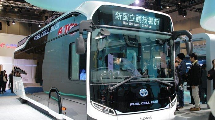Dukung Pengembangan Mobil Listrik di Indonesia, Toyota Akan Boyong Bus Listrik ke Tanah Air
