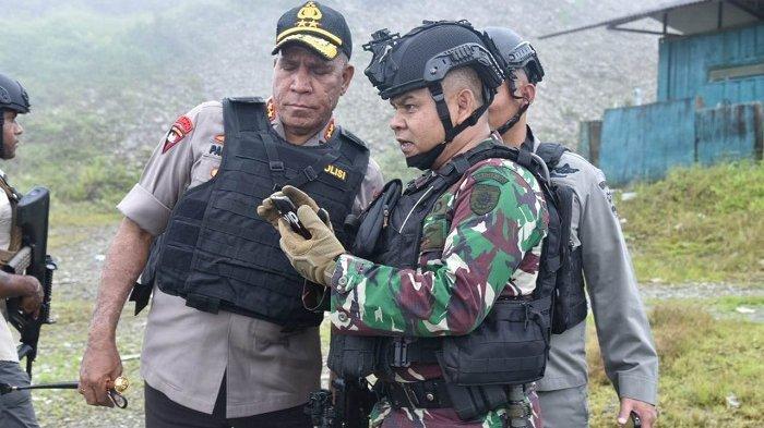 KKB Tembak Bus PT Freeport Setelah Sebelumnya Lukai Anggota Brimob, Pelakunya Kabur Masuk Hutan