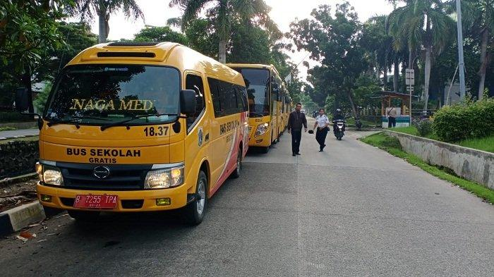 UPDATE Hari Ini, 30 Bus Sekolah Mulai Antar Jemput Tenaga Medis Virus Corona untuk 4 RSUD di Jakarta