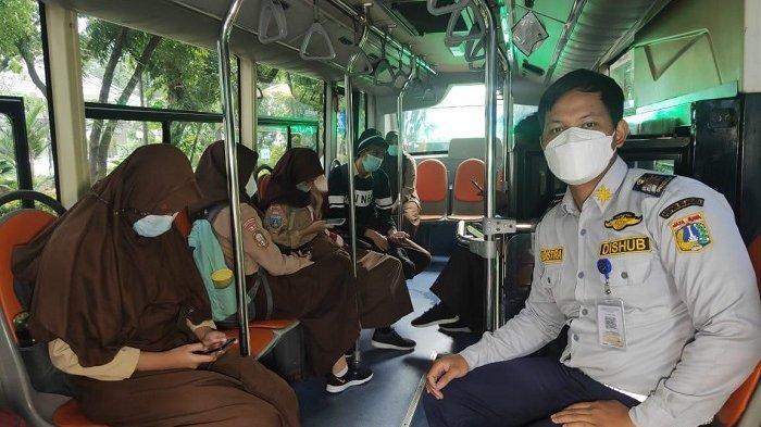Dinas Perhubungan Operasikan 50 Bus Sekolah Untuk Layani Siswa Selama Uji Coba PTM