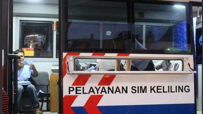 LOKASI SIM Keliling Jumat 3 Juli 2020 di Jakart, Hanya Digelar di Empat Lokasi