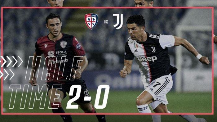 Sudah Juara, Juventus Malah Keok di Tangan Cagliari 2-0, Berikut Jalannya Pertandingan dan Klasemen