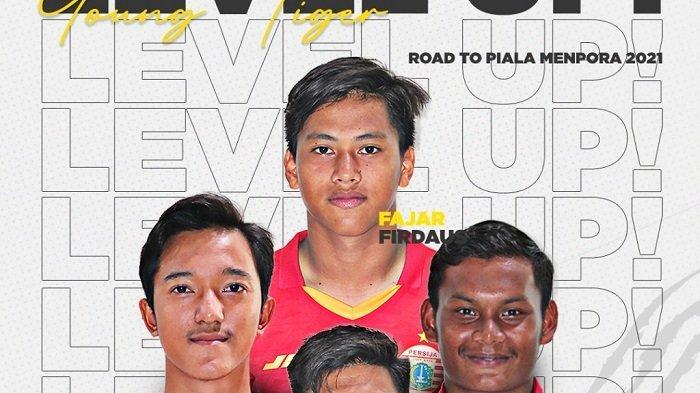 Persija Jakarta Bakal Mainkan Empat Pemain Akademi Persija di Turnamen Pramusim Piala Menpora 2021