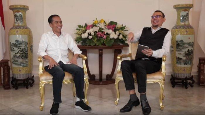 Jokowi Punya Lengkap SIM A SIM B dan C, yang Tak Punya SIM Salabim, Perbincangan dengan Cak Lontong