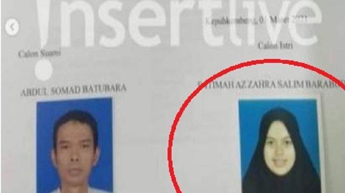 Calon istri UAS yang baru bernama Fatimah Az Zahra Salim Barabud dari Jombang usia masih sangat muda