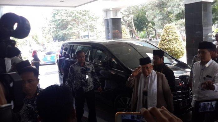Beredar Kabar Meninggal Dunia, Ma'ruf Amin Jenguk Ustaz Arifin Ilham di RSCM