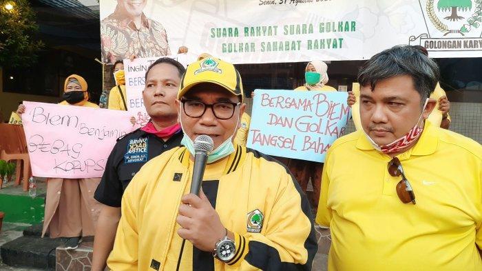 Ikuti Jejak Ayahnya Benyamin Sueb, Biem Benjamin Lepas Jaket Gerindra Bergabung dengan Partai Golkar