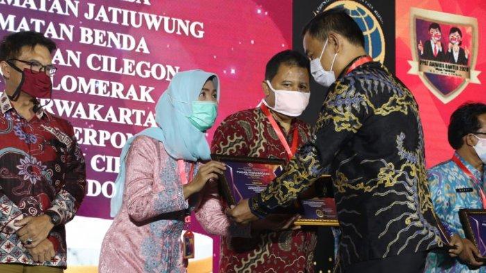 Camat Tigaraksa Tangerang Raih Penghargaan Pejabat Pembuat Akta Tanah Teraktif