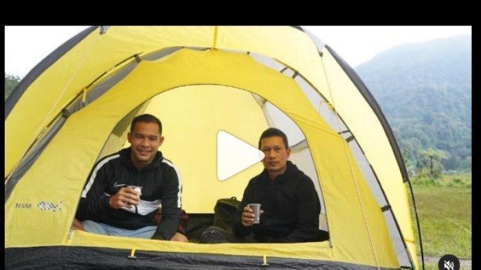 Cerita Ismed Sofyan dan Andritany Ardhiyasa Camping di Buktif Golf Cibodas, Bunuh Kebosanan