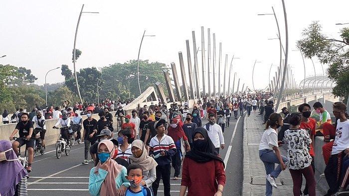 CFD Kota Bekasi 40.000 Orang, Dekati Angka Normal Seperti Sebelum Pandemi Virus Corona