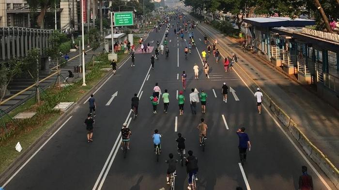 Anies : Penataan PKL di Jalan Thamrin untuk Kembalikan Tujuan HBKB