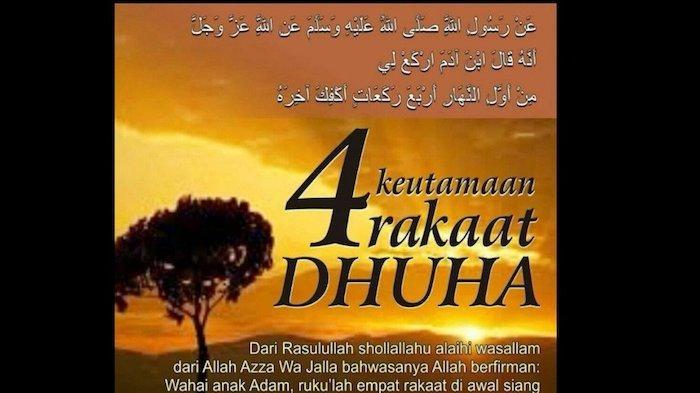 Tata Cara Shalat Dhuha 2 Rakaat dan 4 Rakaat, Lengkap Waktu Pelaksanaan dan Doanya