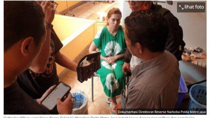 Tidak Lengkap, Kejari Kota Depok Kembalikan Berkas Perkara Catherine Wilson Kepada Polda Metro Jaya
