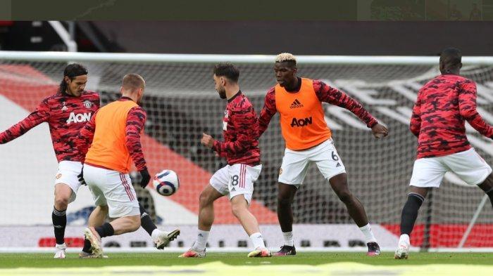 Sedang Berlangsung Manchester United vs Liverpool 1-0, Gol Bruno Fernandes Umpan Wan-Bissakka