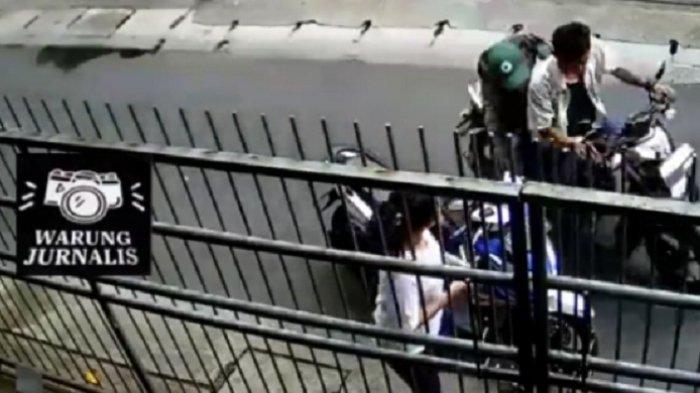 KRONOLOGI Kisah Dua Jambret Beraksi di Depan Mata Polisi di Grogol Terekam CCTV dan Viral