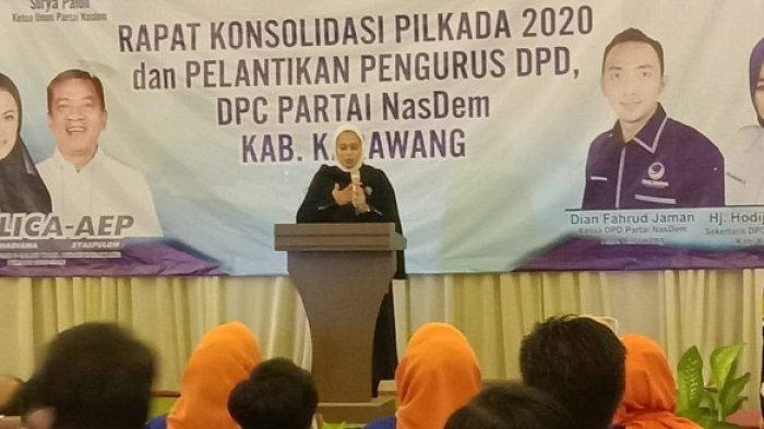 Terungkap, Ini Alasan Cellica Memilih Aep Saepuloh Sebagai Wakil Bupati Karawang di Pilkada 2020