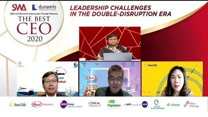Awarding Best CEO 2020 untuk Pemimpin Bisnis di Era Disrupsi, Ini 13 CEO Terbaik 2020