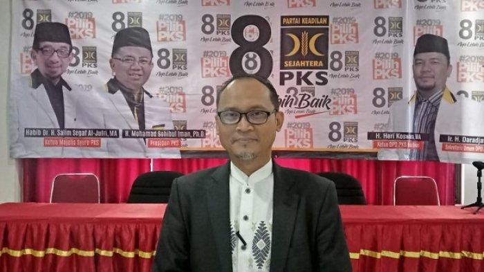 PKS Jawa Barat Tetapkan Chairoman J Putro sebagai Calon Ketua DPRD Kota Bekasi