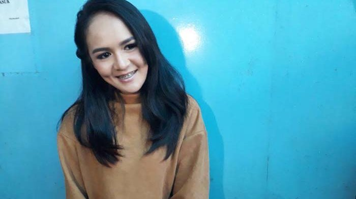 Chairunnisa alias Chacha, mantan istri Andika Mahesa vokalis Kangen Band, ditemui di Gedung Trans TV, Tendean, Jakarta Selatan, Kamis (28/3/2018).