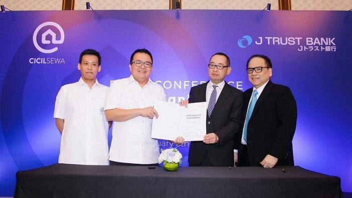 Cicilsewa Gandeng J Trust Bank, Bantu Pelaku Usaha untuk Pembiayaan Sewa Properti