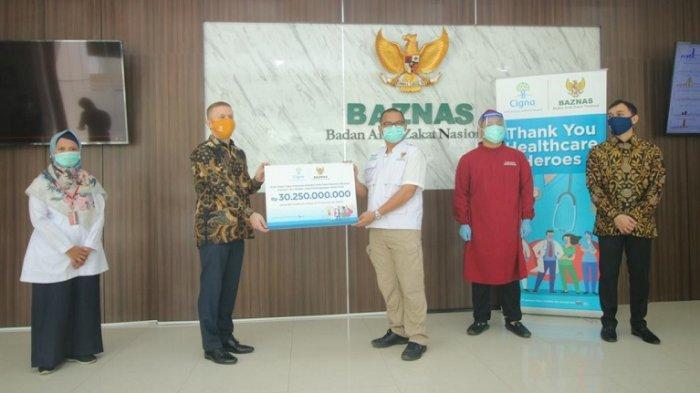Cigna dan BAZNAS mengapresiasi Pahlawan Kesehatan Indonesia dalam melawan Covid-19