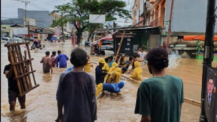 Ciledug yang Paling Parah Terdampak Banjir, Larangan Kota Tangerang Lumpuh