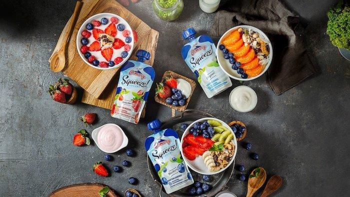 Cimory Yogurt Squeeze Hadir Tanpa Harus Repot Dimakan dengan Sendok, Tekturnya Creamy