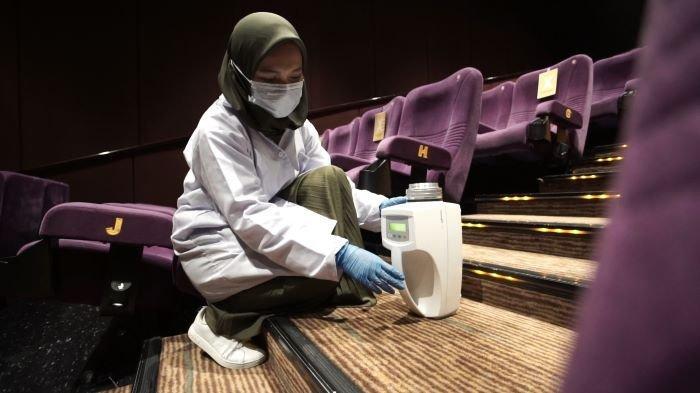 Cinema XXI dan Nusantics Lakukan Penelitian, Pastikan Udara di Ruang Bioskop Aman dari Covid-19