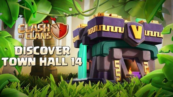Clash of Clans Telah hadir Dengan Town Hall 14