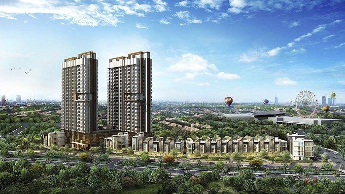Konsep desain yang diusung Cleon Park Apartment adalah minimalis modern, disesuaikan segmentasi pasar kelas menengah atas. Apartemen Cleon Park yang terdiri atas 310 unit ini sudah terjual lebih dari 80 persen.