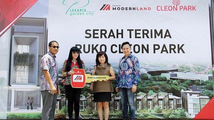 PT Mitra Sindo Sukses Serah Terimakan Shop House Cleon Park di Jakarta Garden City