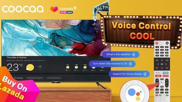 TV Pintar coocaa S6G Pro Rilis, Diskon hingga 50 Persen di Ulang Tahun Lazada, Ini Kepintarannya