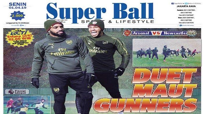 Arsenal Andalkan Duet Pierre-Emerick Aubameyang dan Alexandre Lacazette