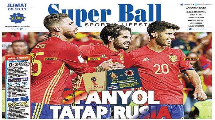 Spanyol Tetap Diunggulkan Menang atas Albania