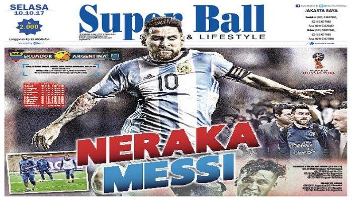 Piala Dunia 2018 Bisa Tanpa Kehadiran Lionel Messi