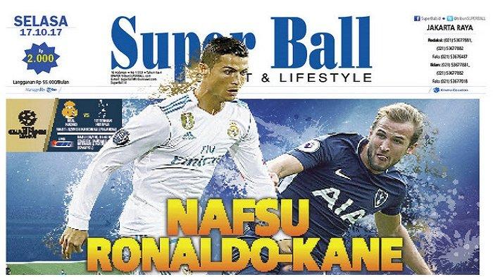 Cristiano Ronaldo Bernafsu Bikin Rekor Baru di Liga Champions